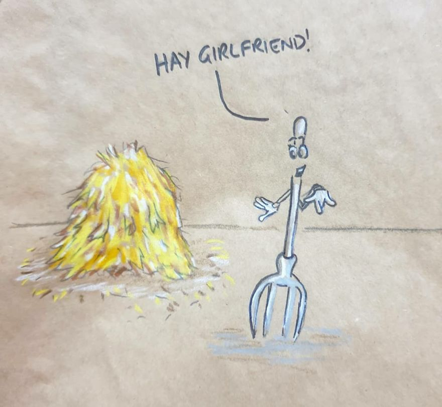 Dad-Drawings-Funny-Cartoons-On-Lunch-Bags-Sandwichbagdad