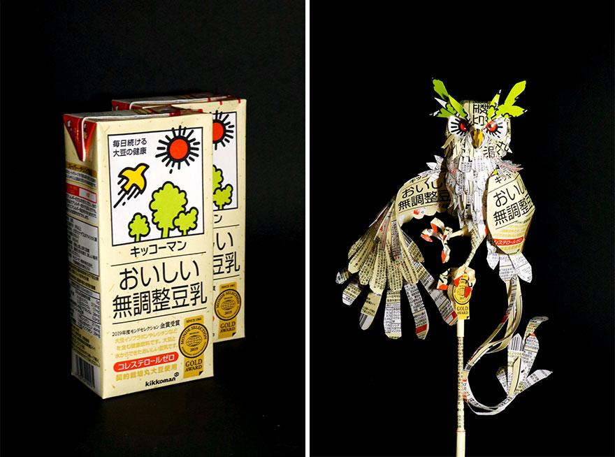 Kağıt Sanat-Heykeller-Dan-Ürün-Ambalaj-Kiries-Part-3-Haruki