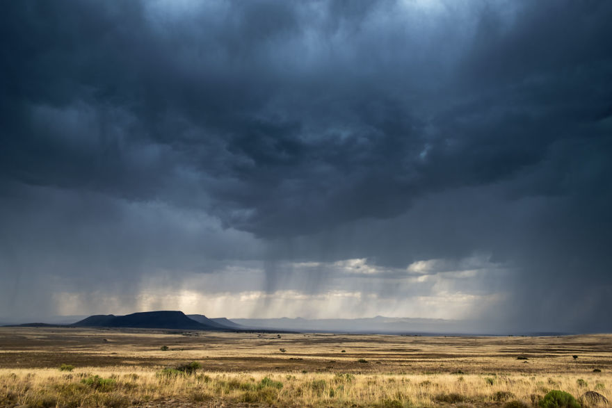 Storm Over The Karoo, South Africa