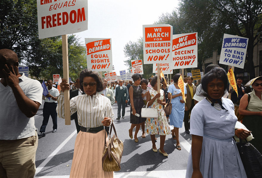 Civil Rights March On Washington