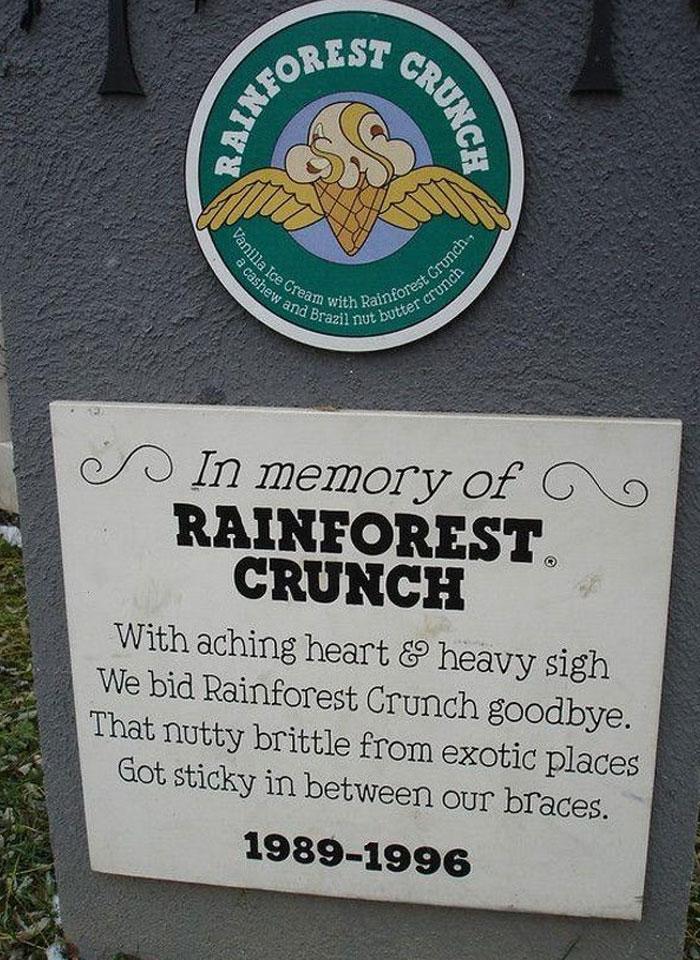 Rainforest Crunch (1989 - 1999)