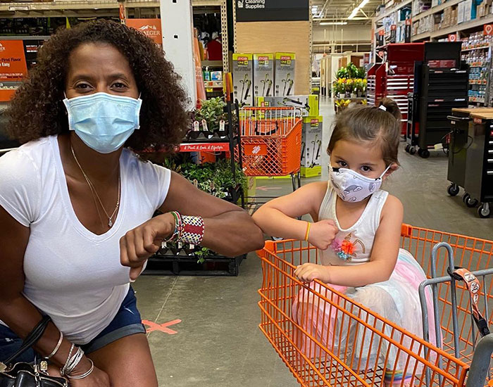4 Y.O. Girl Yells 'Black Lives Matter' In Support Of This Woman In Home Depot And Now They're Best Friends