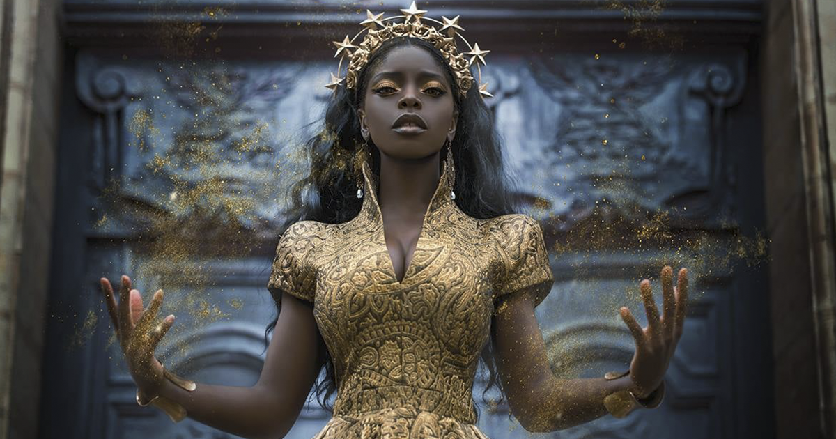 Twitter User Shares Black Women In Fantasy Photos Because Their Presence Is Small (44 Pics)