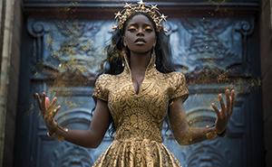 Imágenes increíbles de mujeres negras en sesiones fotográficas de fantasía (30 fotos)