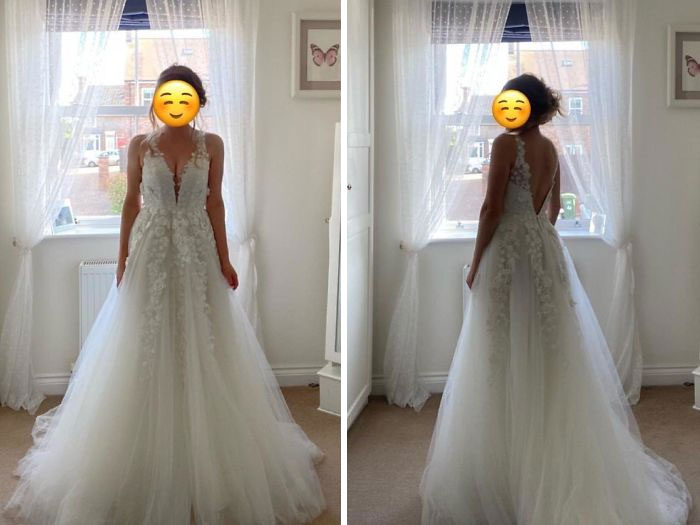 67 Brides Show Off The Gorgeous Wedding Dresses They Bought For A Bargain Success Life Lounge,How To Choose A Wedding Dress Silhouette