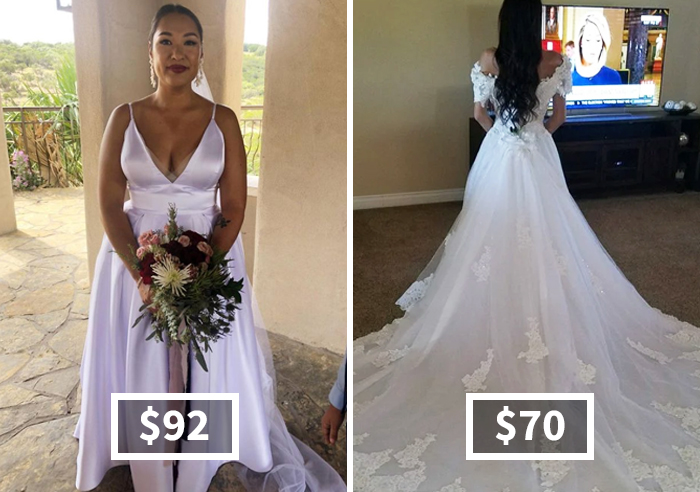 30 Times Brides Found Their Wedding Dresses Without Breaking The Bank And Proved How Good They Look By Posting These Pics