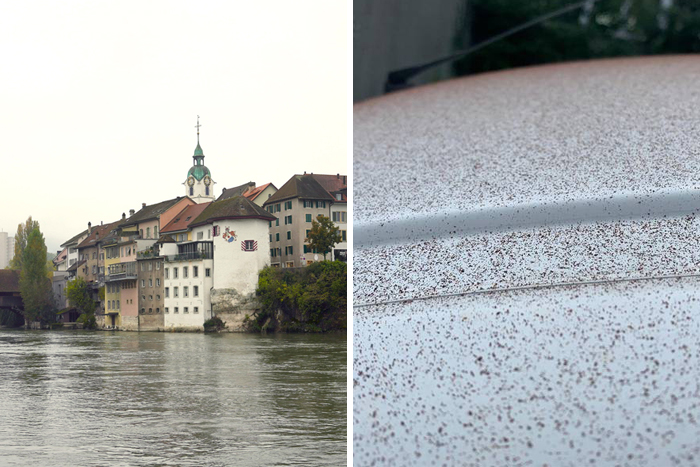 """""""Chocolate Snow"""" Covers Swiss Town After A Mishap At The Local Chocolate Factory"""
