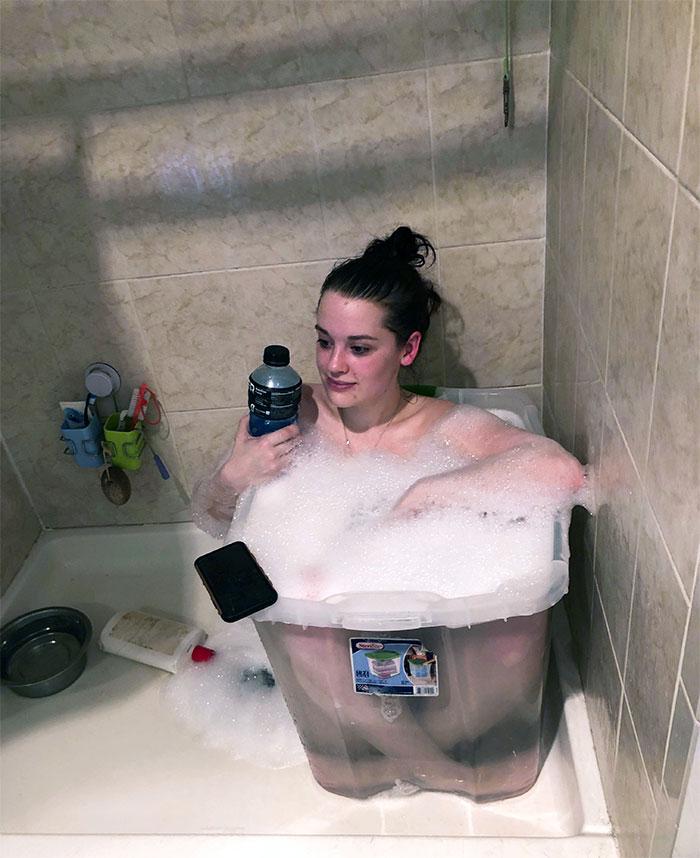 Crazy Sore Muscles But No Bath Tub? Improvise. Adapt. Overcome