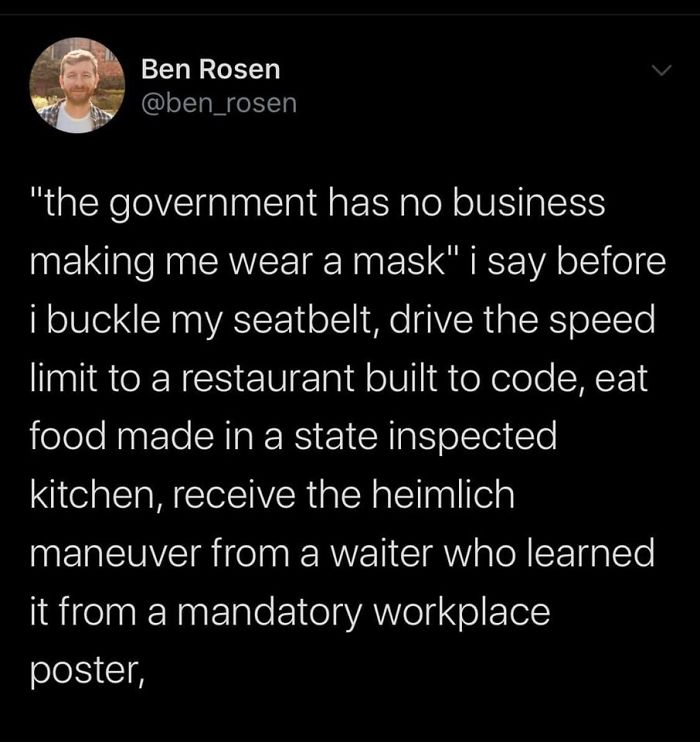 Just Shut Up And Wear Your Mask.