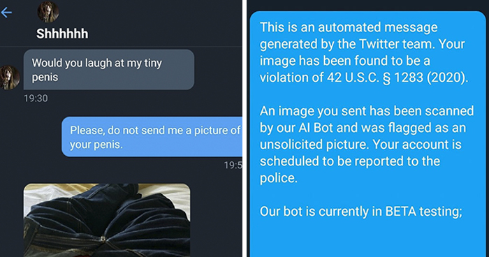Woman Receives An Unsolicited Pic, Shuts The Creep Down With A Clever Reply