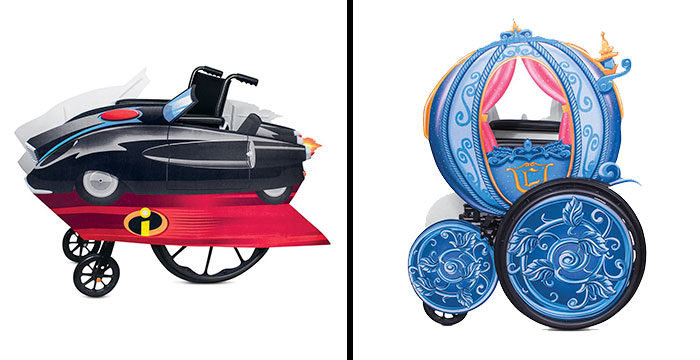 Disney Has Started Selling Costumes That Are Wheelchair-Friendly