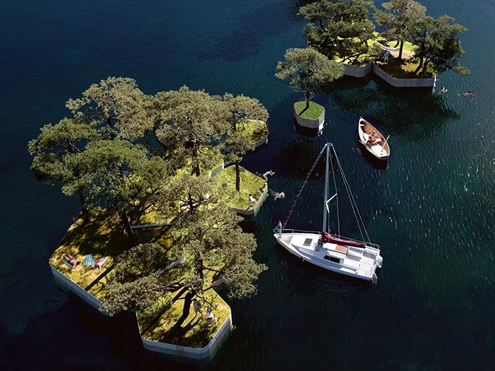 去公園先划船!哥本哈根「浮島公園」好愜意
