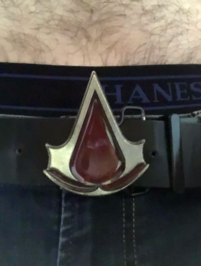 My Old Assassins Creed Belt, Looks Cool But Punctures Your Stomach When You Sit Down