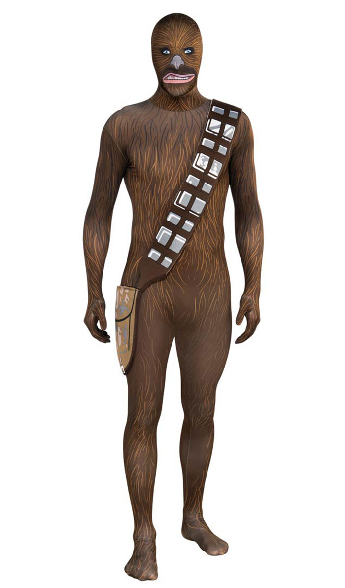 This Chewbacca Costume Is The Stuff Of Nightmares