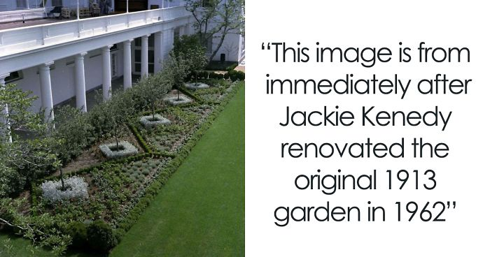Master Gardener Defends Melania S White House Garden Restoration And They Might Change Your Opinion Bored Panda