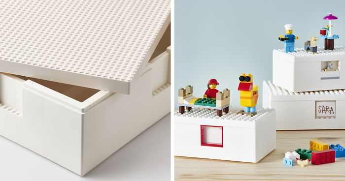 See IKEA's First Genius Collaboration With LEGO | Bored Panda