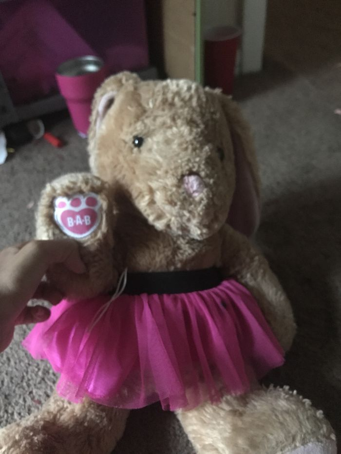 Meet Bella The Bunny. My Mother Gave Her To Me When I Was In The Hospital Getting Ready For An Appendectomy