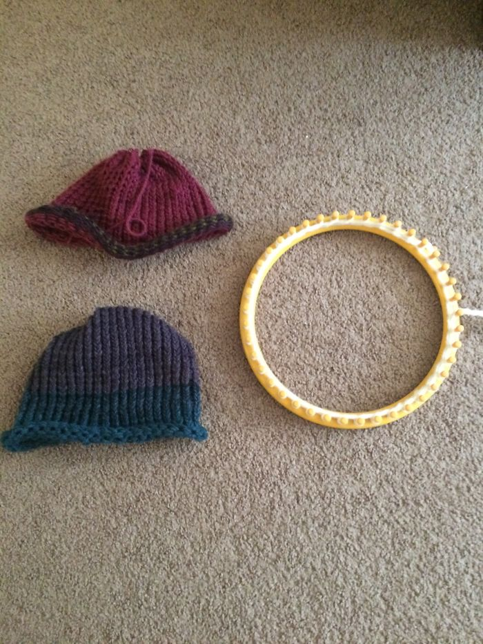 I Have Been Making Hats Using A Loom