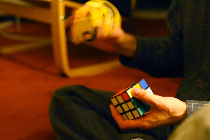 The Rubik's Cube – Invented 1974