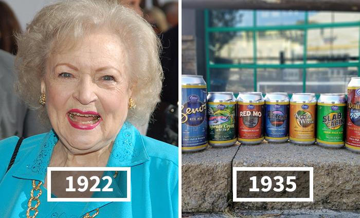 Betty White es más vieja que estos 30 inventos, y sirve para poner su edad en perspectiva