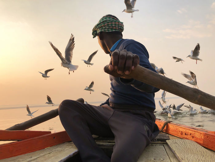 Travel: First Place, 'Free From The Past', Varanasi, India By Kristian Cruz