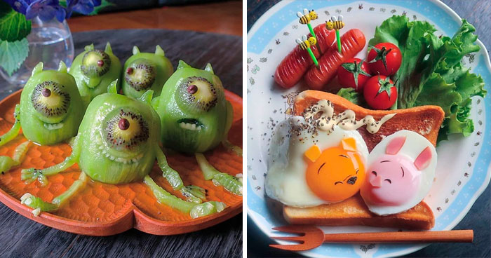Mom Of Three From Japan Comes Up With Incredibly Creative Meals For Her Kids (30 Pics)