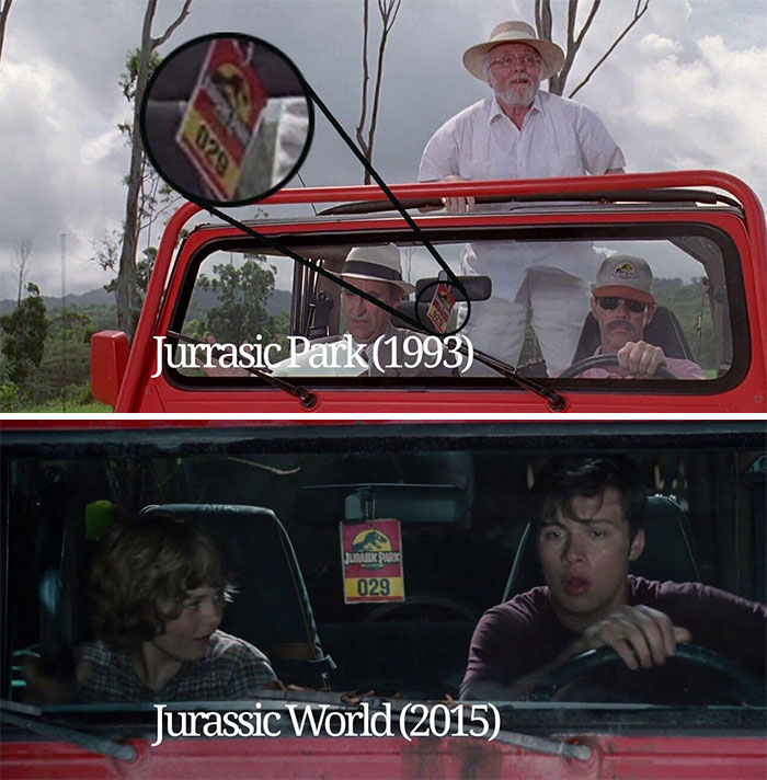 In Jurassic World The Jeep Used To Escape Was The Same Jeep That Brought People In Jurassic Park