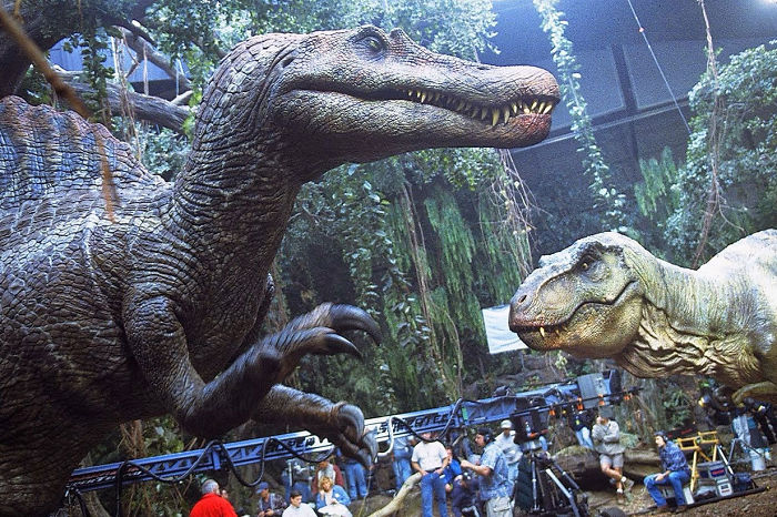 The Spinosaurus In 'Jurassic Park III' Was The Largest Animatronic Ever Built