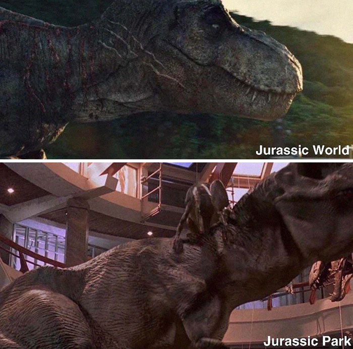 The T-Rex In Jurassic World Is The Same T-Rex From Jurassic Park