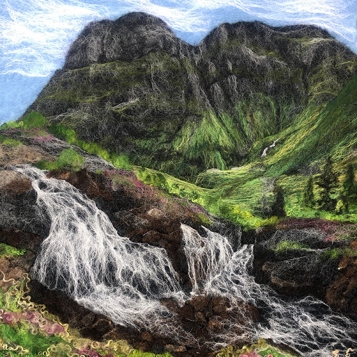 I Create Scottish Landscapes Using Wool (49 Pics)