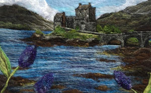 I Create Scottish Landscapes Using Wool (49 Pics)