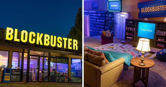 The Last Blockbuster In The World Is On Airbnb For Just $4 A Night