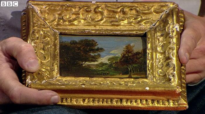 John Constable painting—worth $400K