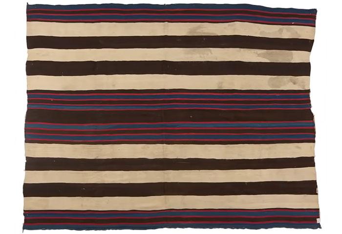 Manta de 2ª mano de los Navajos, vale 1'5$ millones