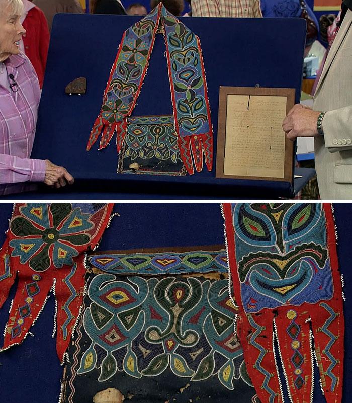 Cherokee Satchel from 1800s—worth $145K