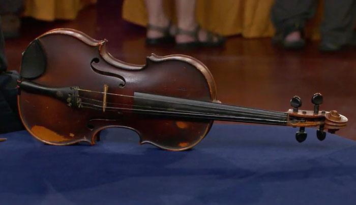 Giuseppe Pedrazzini violin—worth $50K