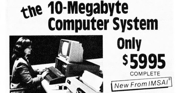 40 Hilarious Ads For Technology From The Past That Look Insanely Expensive Now