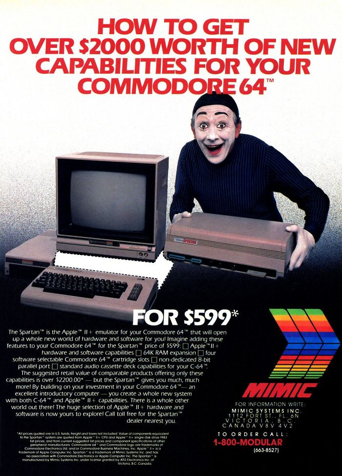 Spartan Apple II+ Emulator: $599.00