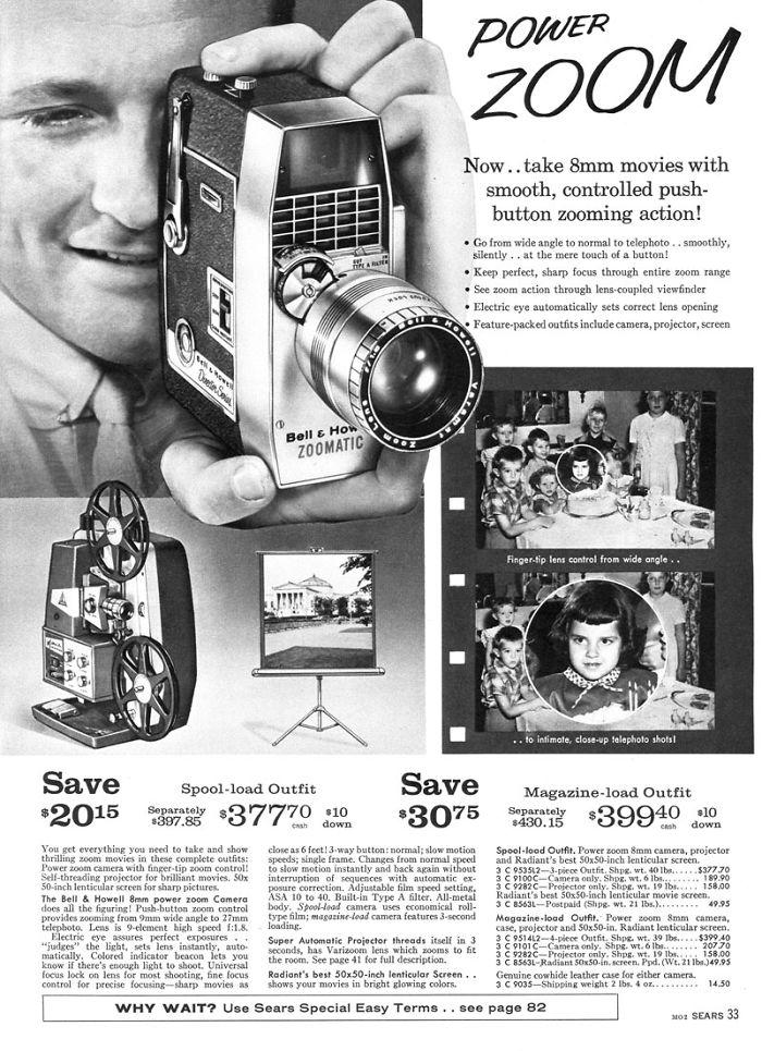 Bell & Howell 8mm Camera: $207.70