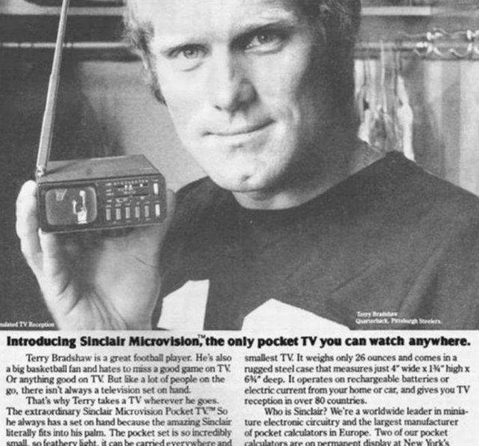 Sinclair Microvision TV: $395.00