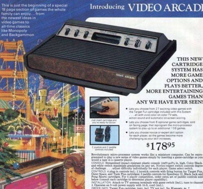 Sears Video Arcade: $178.95