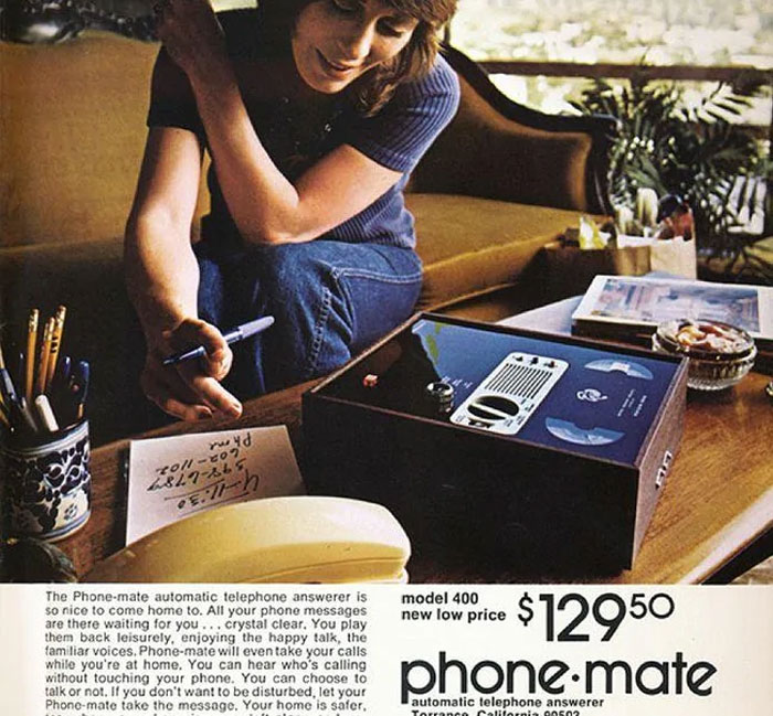 Phone-Mate Answering Machine: $129.50