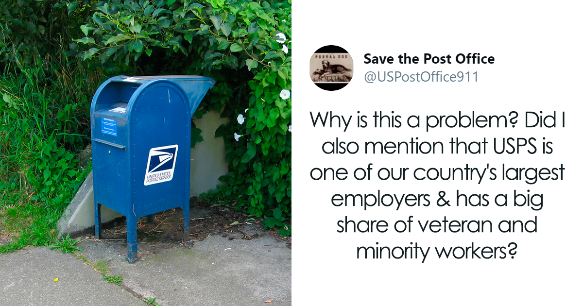 Twitter User Encourages People To Help Save USPS...