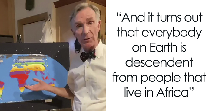 A Simple Explanation On Why Racism Doesn't Make Any Sense Shared By Bill Nye The Science Guy