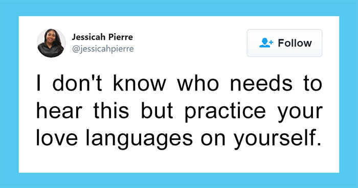 Woman Shares Tips On How To Practice Love Languages On Yourself
