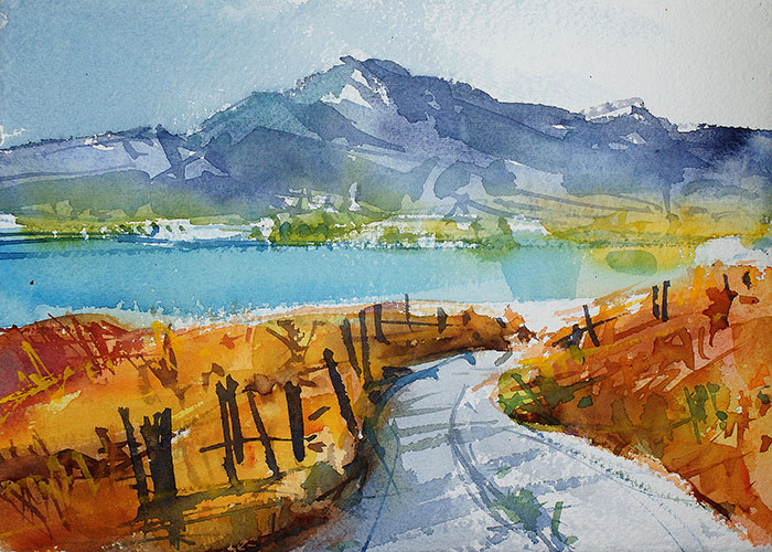 After A Trip To Ireland, I Decided To Paint Its Stunning Landscapes (34 Pics)