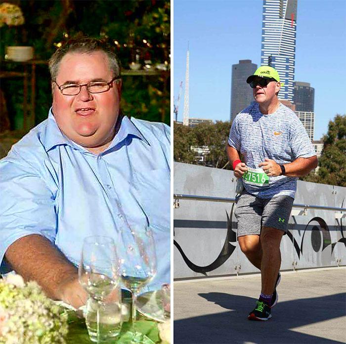 From 185 Kg To Half Marathon
