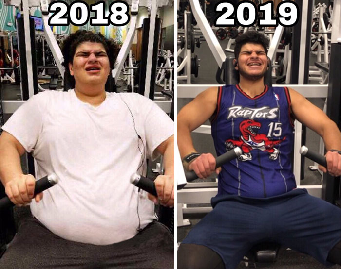 Here's Some Monday Motivation (2018 vs. 2019 Progress)