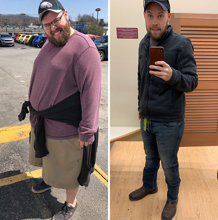After 18 Months Of Keto, I've Lost Over 200 Lbs And Went From A Size 60 Pant To Purchasing These Size 32s Today. Feels Absolutely Unreal