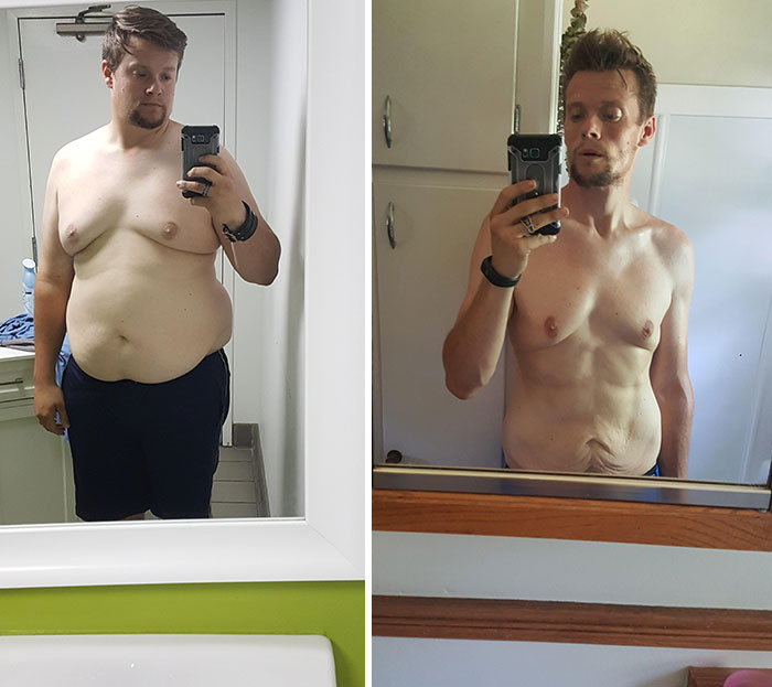 Exactly One Year Of Weight Loss - June '19 - June '20